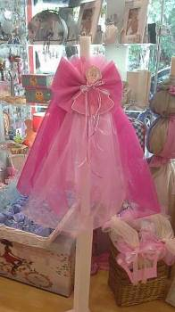 Ballerina  with  pin  organza