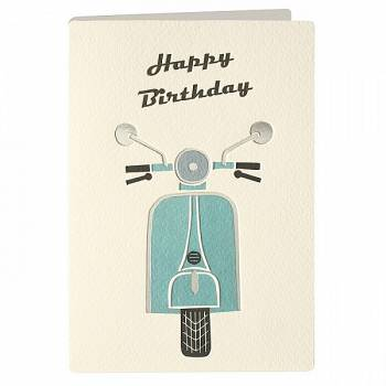 Κάρτα JAMESELLIS T2167 RETRO Happy birrhday
